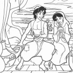 Aladdin kleurplaten -