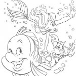 Kleine Zeemeermin kleurplaten - DeKleineZeemeermin013