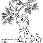 101 Dalmatiers kleurplaten -