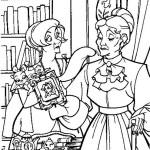 Anastasia kleurplaten -