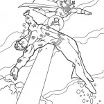 Aquaman kleurplaten -