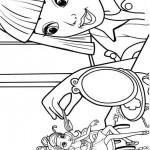 Barbie Duimelijntje kleurplaten -