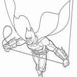 Batman kleurplaten -