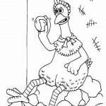 Chicken Run kleurplaten -