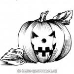 Halloween kleurplaten -