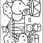 Hello Kitty kleurplaten -