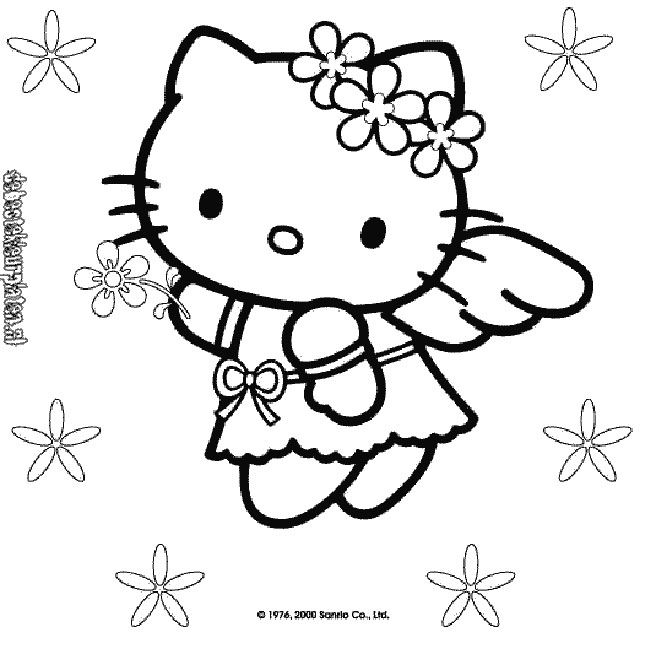 Kerst Kleurplaten Frozen Hello Kitty 9 De Beste Kleurplaten