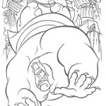 Hercules kleurplaten -