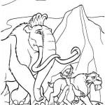 Ice Age kleurplaten -
