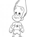 Jimmy Neutron kleurplaten -
