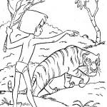 Jungle Boek kleurplaten -