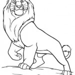 De Leeuwenkoning kleurplaten -