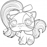 Littlest Pet Shop kleurplaten -