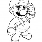 Mario kleurplaten - Mario10