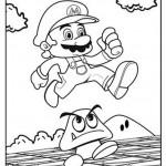 Mario kleurplaten - Mario2
