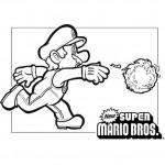 Mario kleurplaten - Mario3