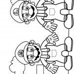 Mario kleurplaten - Mario5
