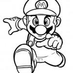 Mario kleurplaten - Mario6