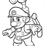 Mario kleurplaten - Mario7