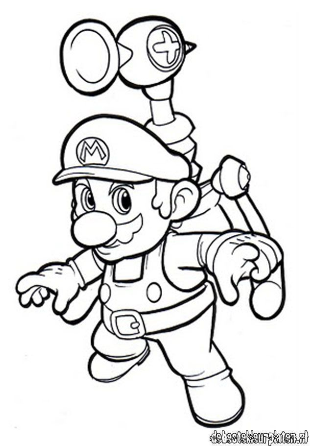 jombo super mario coloring pages - photo#35