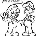 Mario kleurplaten - Mario8