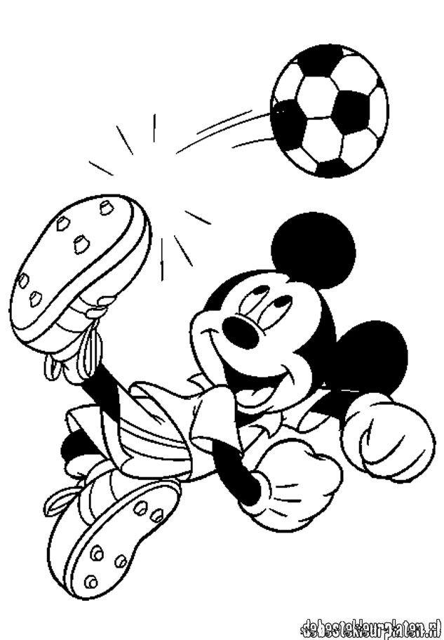 Leuke Kleurplaten Kerst Mickeymouse16 De Beste Kleurplaten