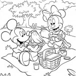 Minnie Mouse kleurplaten - Minniemouse1