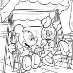 Minnie Mouse kleurplaten -