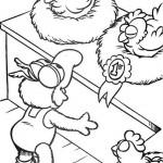 De Muppet Show kleurplaten -