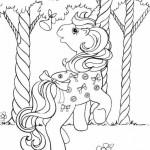 My Little Pony kleurplaten -