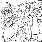 Peter Pan kleurplaten -