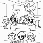 Powerpuff Girls kleurplaten -