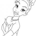 De prinses en de kikker kleurplaten -