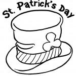 St. Patrick's Day kleurplaten -