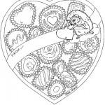 Valentijnsdag kleurplaten -