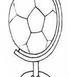 WK Voetbal 2010 kleurplaten -