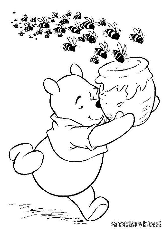 Winnie De Pooh13 De Beste Kleurplaten