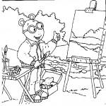 Arthur kleurplaten -