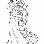 Rapunzel kleurplaten - Tangled0004
