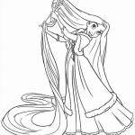 Rapunzel kleurplaten - Tangled0006