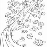 Rapunzel kleurplaten - Tangled0013