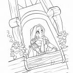 Rapunzel kleurplaten - Tangled0020