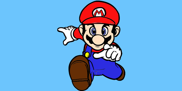 Kleurplaten Mario En Sonic.Mario Kleurplaten De Beste Kleurplaten
