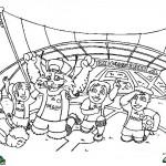Ajax kleurplaten - Ajax001