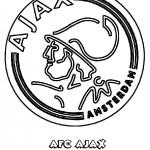 Ajax kleurplaten - Ajax002