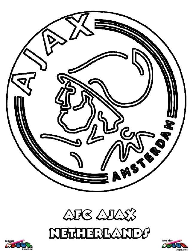 ajax kleurplaat verjaardag ajax kleurplaat 422021