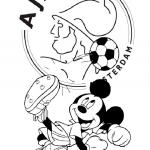 Ajax kleurplaten - Ajax004