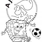 Ajax kleurplaten - Ajax005