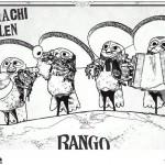 Rango kleurplaten -