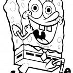 SpongeBob Squarepants kleurplaten -